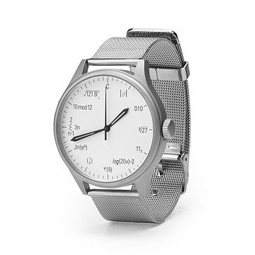 Look what I found at UncommonGoods: Equation Geek Watch for $68 #uncommongoods