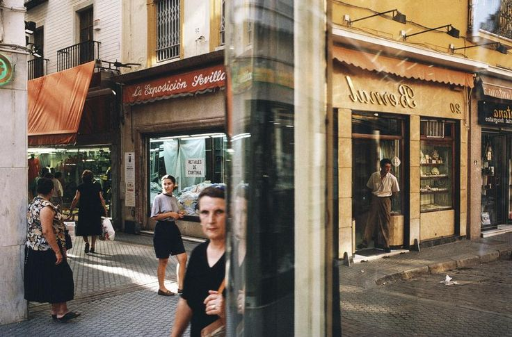Alex Webb SPAIN. Seville. 1992.