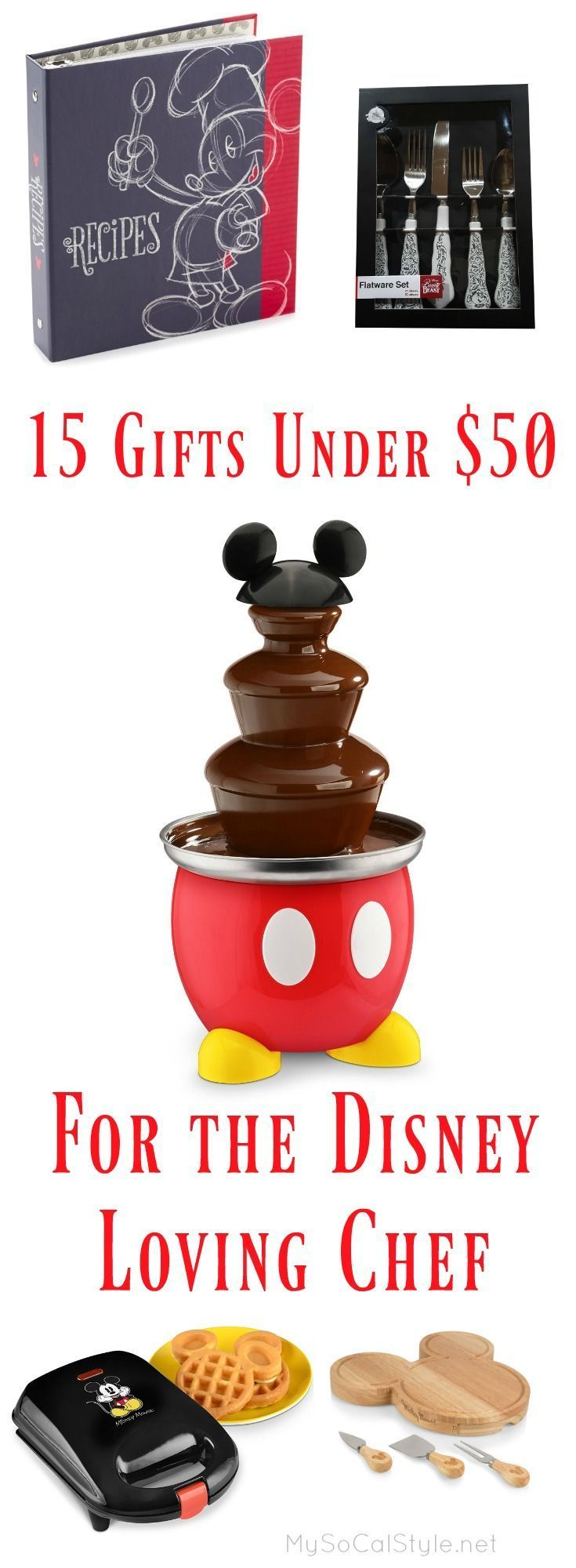 Not sure what to get this season for the Disney loving cook in your life? Check out this great guide! #Disney #Christmas #Gift #Cook #Chef #Present
