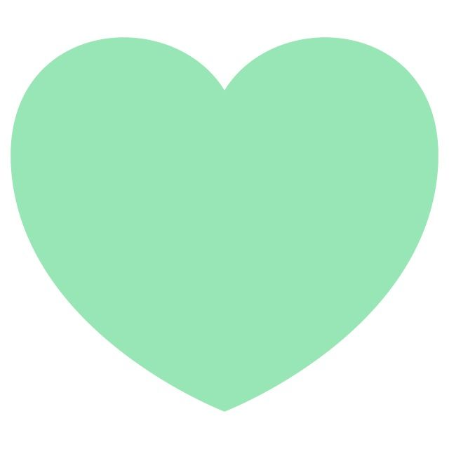 Mint green heart wallpaper | { Green Love } | Pinterest ...