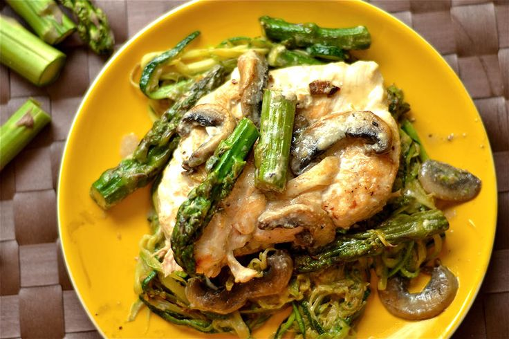 This delicious Creamy Lemon Chicken is prepared in a skillet and sautéed with mushrooms and asparagus. Full of flavor, but also dairy free using coconut milk as the cream base. Serve with rice, pasta, or zoodles for a complete healthy dinner that the whole family will enjoy! I'm gonna be honest with you guys on...Read More »