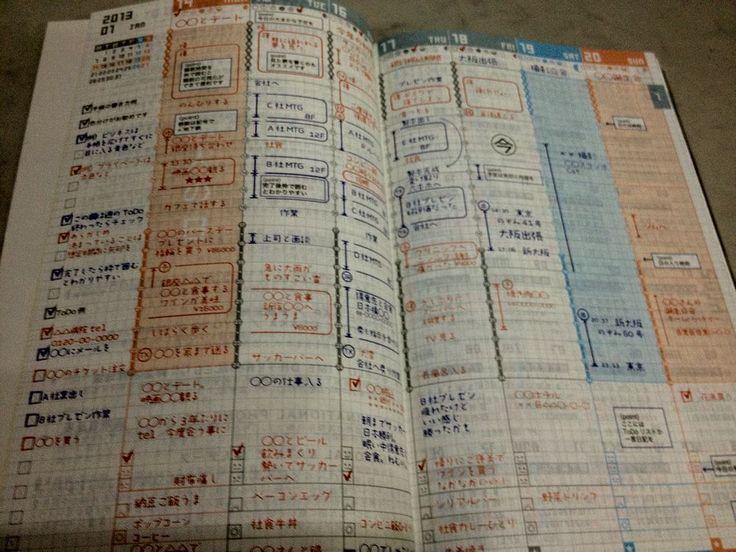 【2013年手帳】ジブン手帳を購入しました−中身編− | mimimisaki1.com