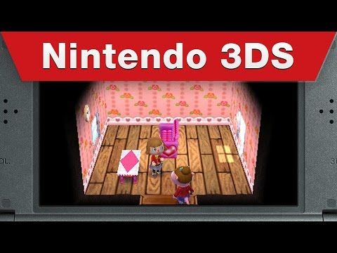 Nintendo Shows Off Animal Crossing Happy Home Designer at Their E3 Digital Event-- *Banshee screeches!*