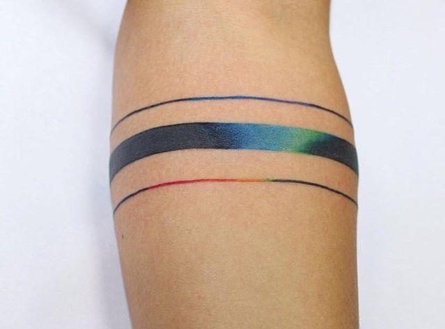 Rainbow - ankle?
