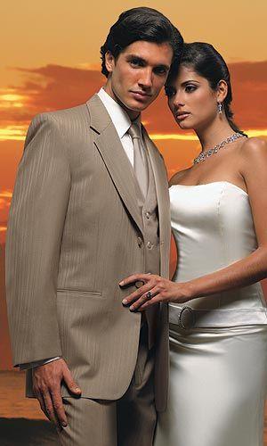 tan tuxedos for weddings - Google Search