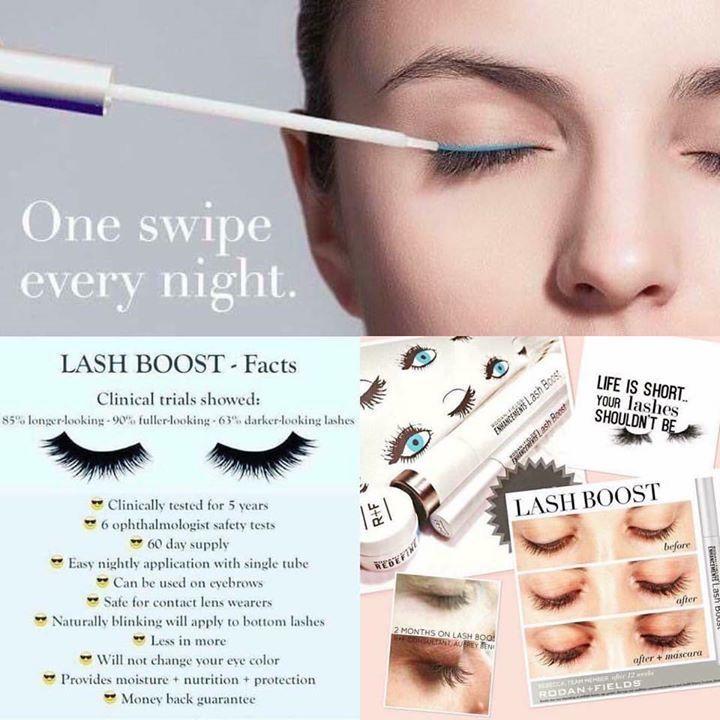 Lash Boost by Rodan + Fields! It's not a mascara--it's a nightly treatment. Just launched today! www.rhea.myrandf.com #lashes