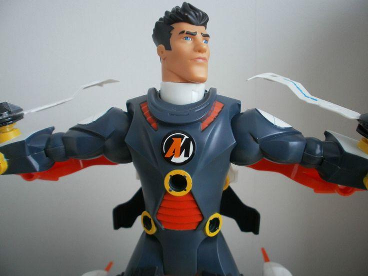 Action MAN Atom EXO Gear Axel 3 IN 1 Action Figure SET Hasbro A T O M | eBay