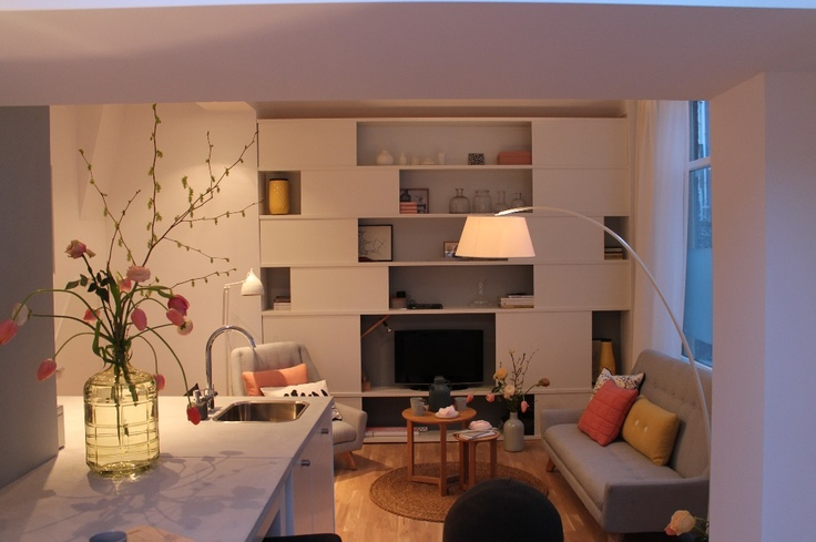 Woonkamer | Living ★ Ontwerp | Design Marijke Schipper