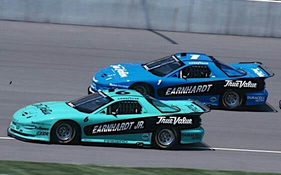 Iroc series Earnhardt father and son. Loved this series!