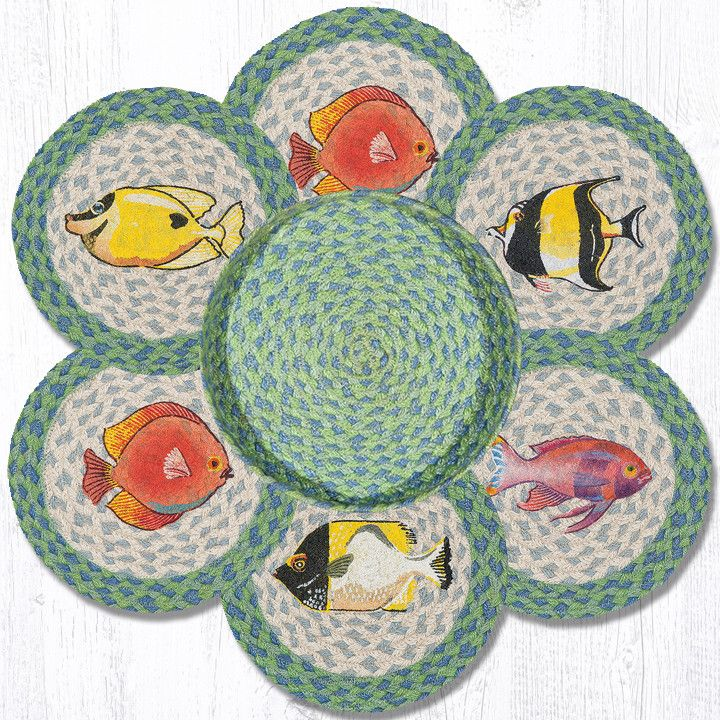 TNB-464 Tropical Waters Trivets