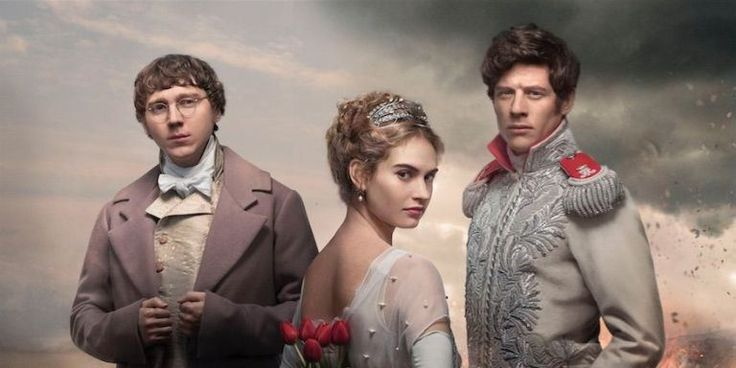 The adaptation of Leo Tolstoy's classic War And Peace will premiere simutaneously on Lifetime, A&E and History in the U.S. on January 18. But UK viewers got their first look at the six-part epi...