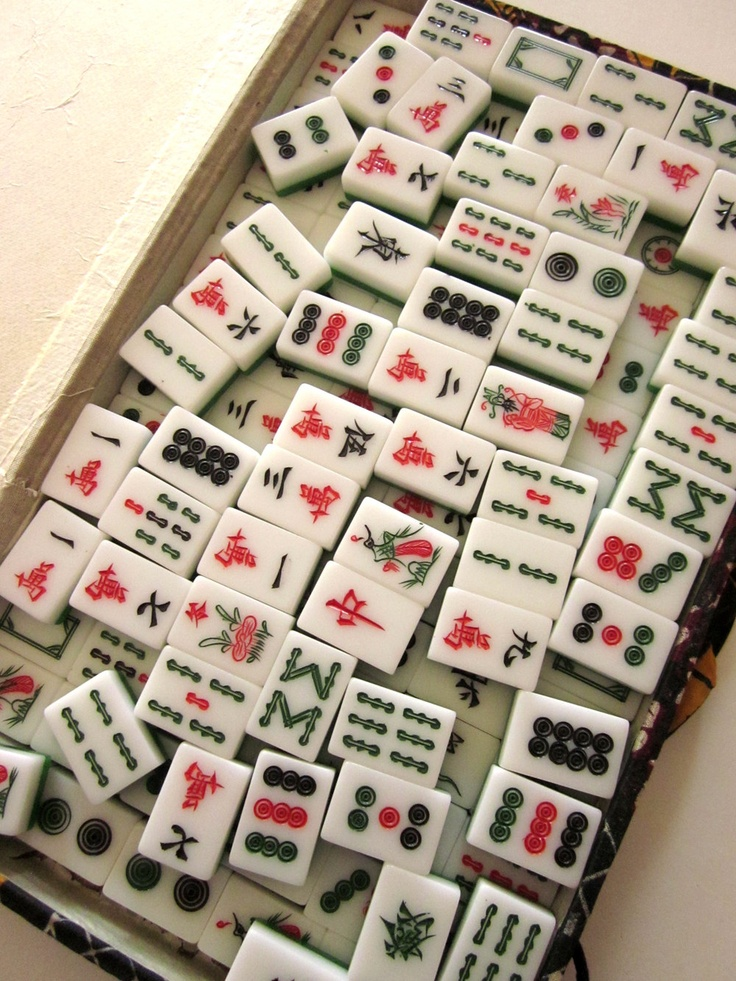 MahJong Vintage Game Set, just like the one I own, and play with