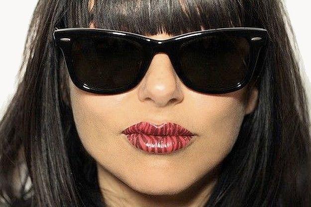 Temporary Lip Tattoos: Get The Lady Gaga Effect Lip Print Tattoos On ...