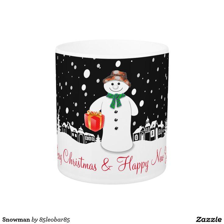 Snowman Magic Mug