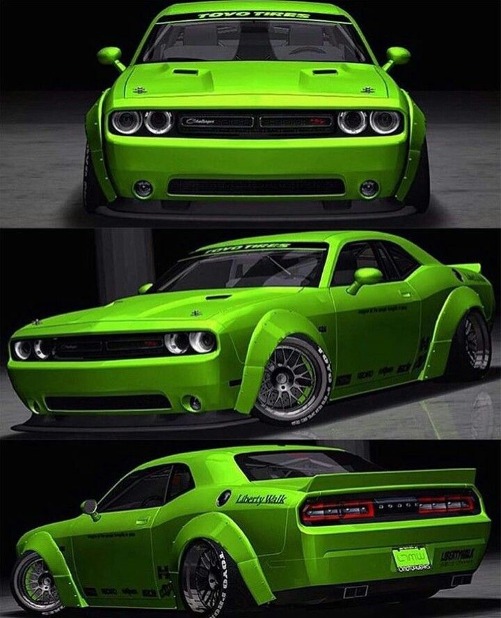 Best New Dodge Challenger Images On Pinterest Cars Old Cars - Pouring hot water on this car reveals awesome hulk vinyl