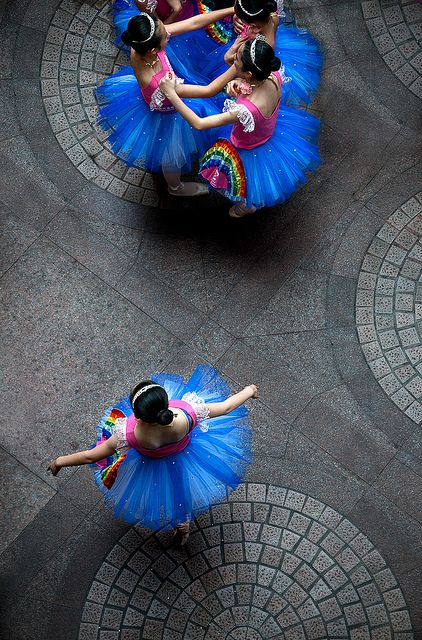 Ballerinas by ekmai, via Flickr