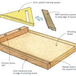 Preview - Shooting Board for Miters - Fine Woodworking
