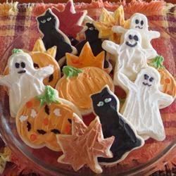 Halloween koekjes @ allrecipes.nl