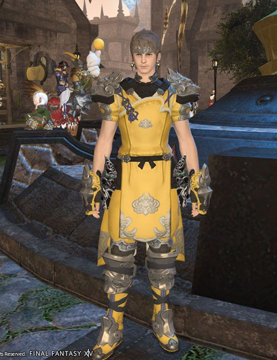 Monk Artifact Armor Cosplay Props from Final Fantasy XIV ...