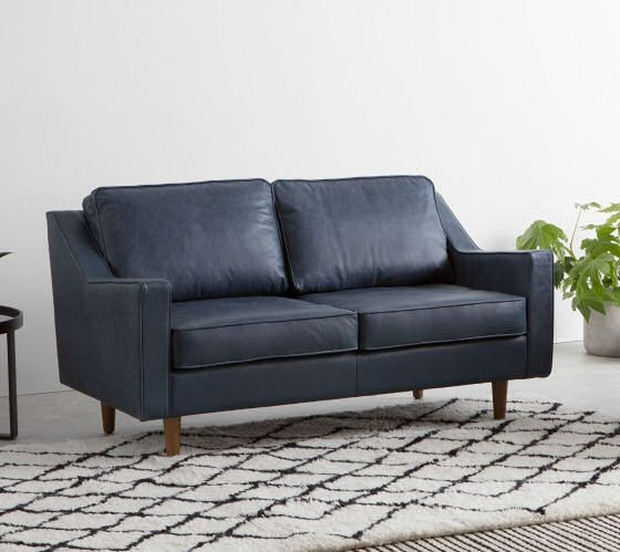 10 Best Contemporary Leather Sofas For Small Spaces Small