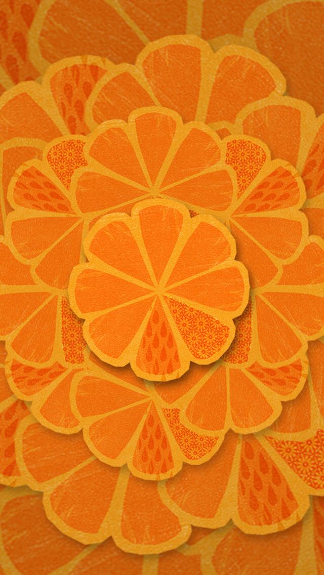 Orange phone wallpaper  Text and Graphics  Pinterest  Wallpapers, Orange and Orange phone