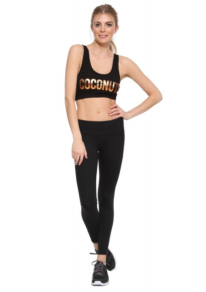 Coconuts Sports Bra in Black | Necessary Clothing