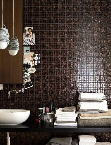 mozaiek - bruin - brown - tiles