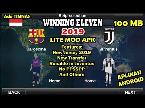 Android Games 2019 Mod Apk  VIDEO : winning eleven 2019 mod
