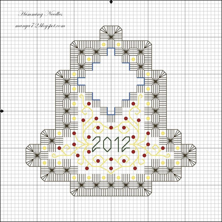 Humming Needles: Christmas Bell Ornament & Pattern
