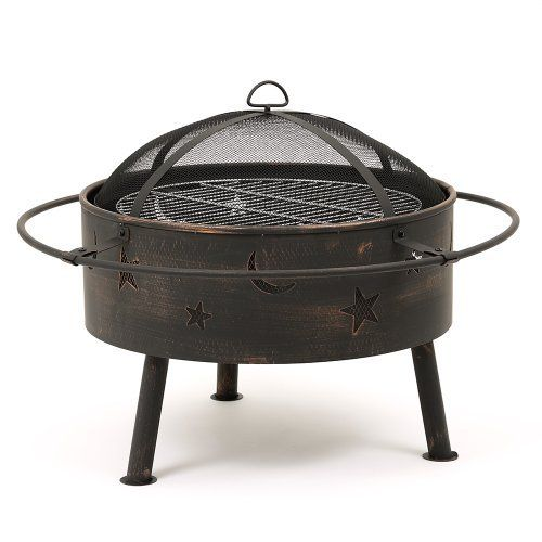 "Trueshopping ""Astral"" Garden / Patio / Backyard Firepit / Heater BBQ Barbecue Includes Grill and Mesh Spark Guard Cover Log & Charcoal Burner, http://www.amazon.co.uk/dp/B00KD82LWO/ref=cm_sw_r_pi_awdl_boo1tb1VNT0Y2"