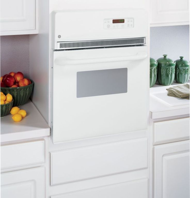 """GE JRP20 24"""" Built-In Electric Oven with Self-Clean Mode and Clear View Window"""