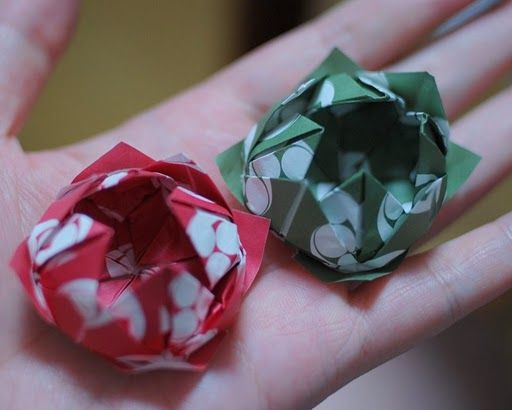 flor de loto origami                                                                                                                                                                                 Más