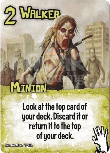 Walker - Zombies - Smash Up Card | Altar of Gaming