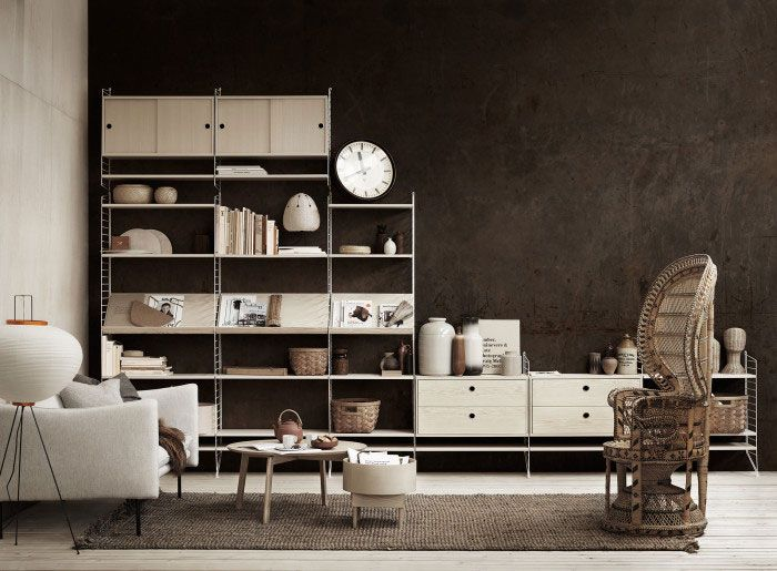 Beautiful Styling from String Furniture's Spring 2016 Catalog - NordicDesign