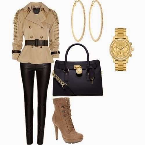 Classy Polyvore Outfits With Trench Coats
