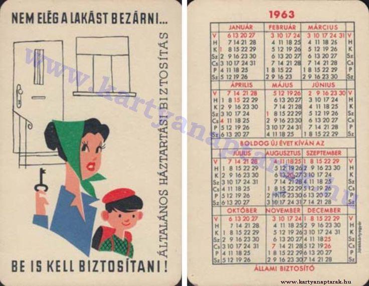 1963 - 1963_0106 - Régi magyar kártyanaptárak