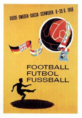 Image from https://upload.wikimedia.org/wikipedia/en/7/73/1958_Football_World_Cup_poster.jpg.