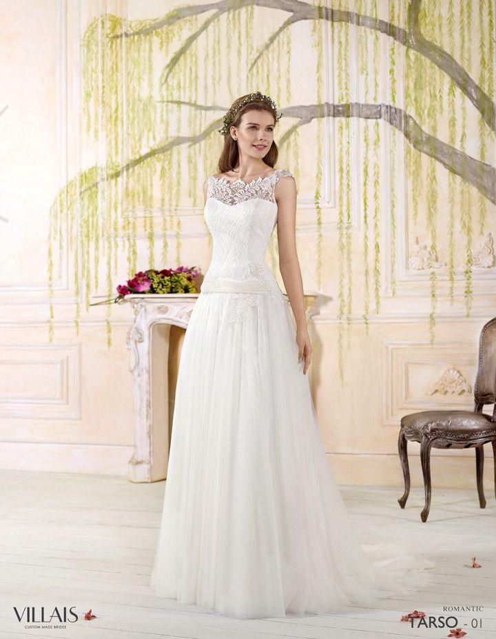 Tarso | Villais Romantic 2016 Wedding Dress - 1