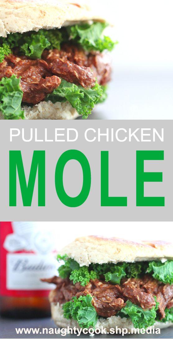 ... en Pinterest | Receta De Mole De Pollo, Receta De Mole y Salsa De Mole