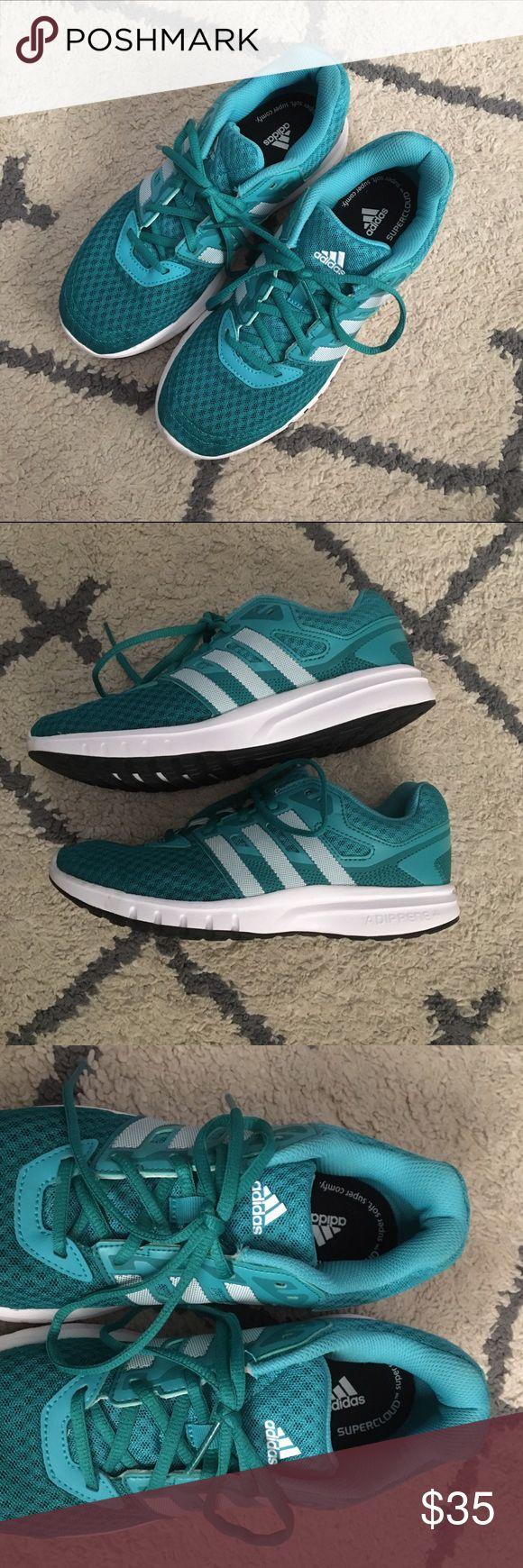Women's Adidas Adiprene Great condition. Women's Adidas Adiprene. Color teal. Running shoes. Adidas Shoes Sneakers