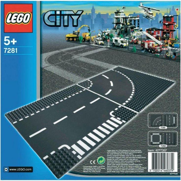 LEGO City 7281 Skrzyżowanie i zakręt | MALL.PL