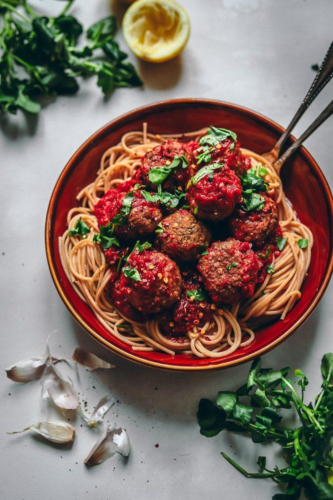 Eggplant And Lentil Vegan Meatballs Recipe Recipes