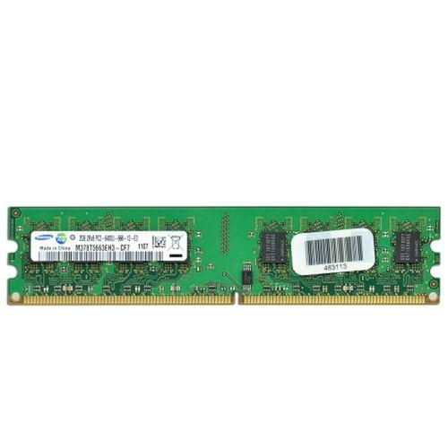 Samsung 2GB DDR2 RAM 800MHz PC2-6400 240-Pin DIMM Major/3rd