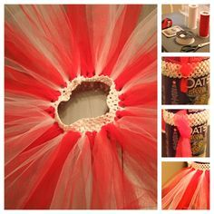 No Sew Tutu... With a headband!  LOVE THIS IDEA!!! I have little girl in mind that i think would definitely benefit from Auntie learning how to make a tutu