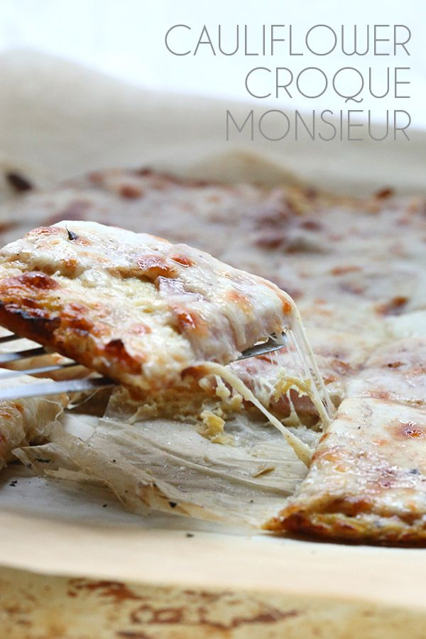 The French classic sandwich gets a low carb makeover! A grain-free cauliflower crust turns Croque Monsieur into a healthy dinner recipe. It always surprises me when, given the option of something s…