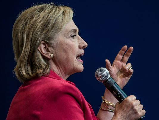 "#p21 #tlot #tcot #teaparty #union #iww #occupy #ows #p2  Wall Street is in Hillary Clinton's corner   http://www.usatoday.com/story/money/2015/07/28/delmaide-wall-street-support-hillary-clinton/30781705/   Behind the scenes, Hillary Clinton's campaign for president belies the Wall Street reform rhetoric that she uses to appeal to left-wing Democratic voters.  It was Deep Throat's reputed advice to reporters in the Watergate scandal that made ""follow the money"" the iconic slogan for those…"