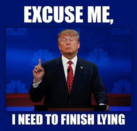 Image result for donald trump lie