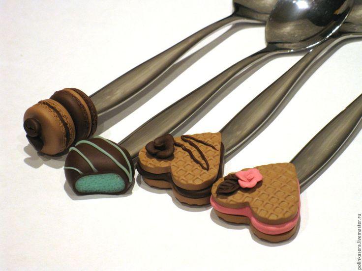 Купить Сладкие ложечки - комбинированный, разноцветный, вкусные ложки, вкусные ложечки, сладкие ложки