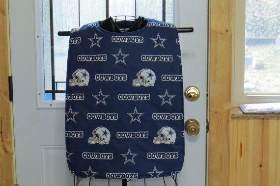 XL to 4X adult bib Dallas Cowboys Clothing by NammersCrafts