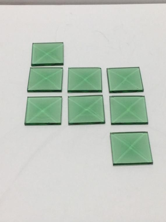 Set of 30 3x5 Rectangle Premium 1//2 Beveled Glass